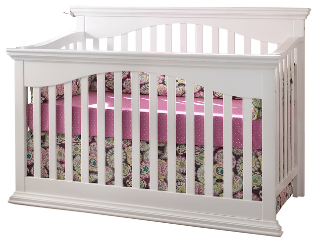 Suite Bebe Bailey Lifetime 4 In 1 Crib White