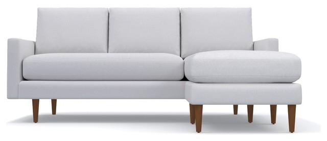 Tremendous Scott Reversible Chaise Sofa Stone Pdpeps Interior Chair Design Pdpepsorg