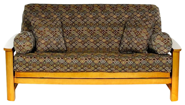 Ls Covers Mosaic Full Futon Cover, Full Size Fits 6-8In Mattress, Inch - Full Futon Cover Roselawnlutheran