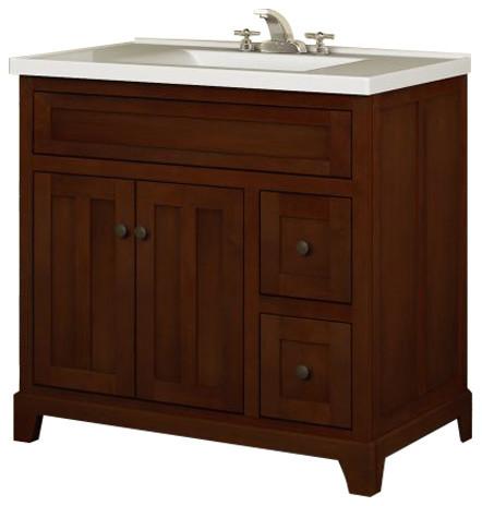 """Miseno Mvgh36com 36"""" Bathroom Vanity Set."""