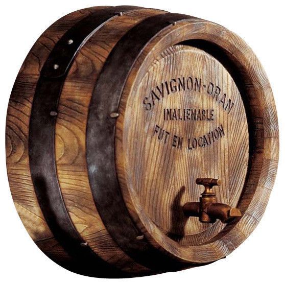 French Wine Barrel Wall Sculpture Farmhouse Wall