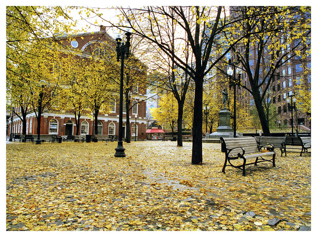 Faneuil Hall autumn