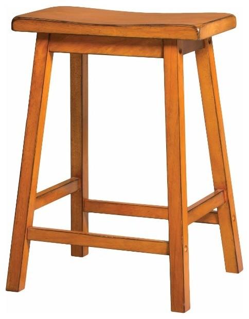 Sensational Wooden Counter Height Stool Set Of 2 Antique Oak Pdpeps Interior Chair Design Pdpepsorg