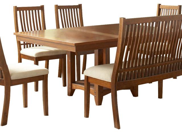 Steve Silver Tulsa 64x48 Dining Table