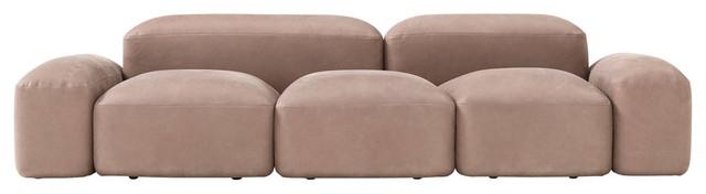Amura Lapis 3-Seater Sofa.