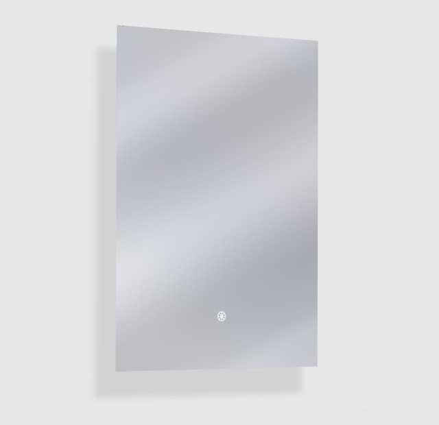 """Aurora Backlit Dimmable LED Mirror with Defogger, 20""""x30""""x1.75"""""""