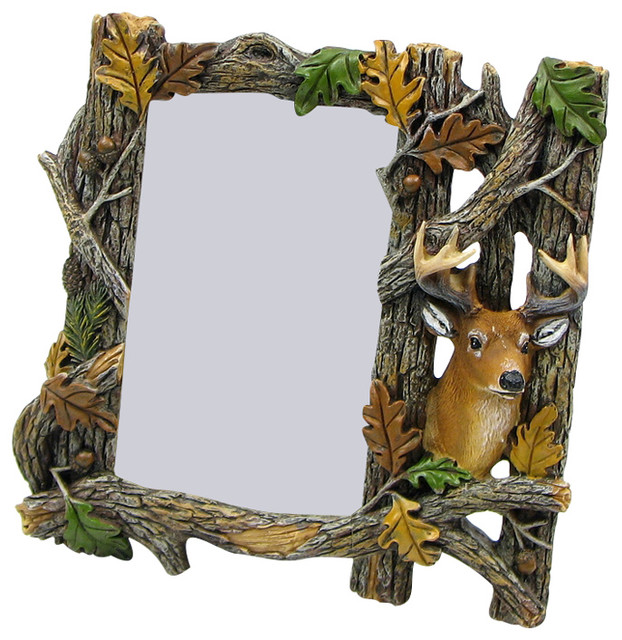 Beautiful Deer Picture Resin Frame - Modern - Picture Frames - by ...