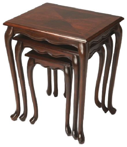 Nest Of Tables Traditional Coffee Table Sets By Furniture East Inc