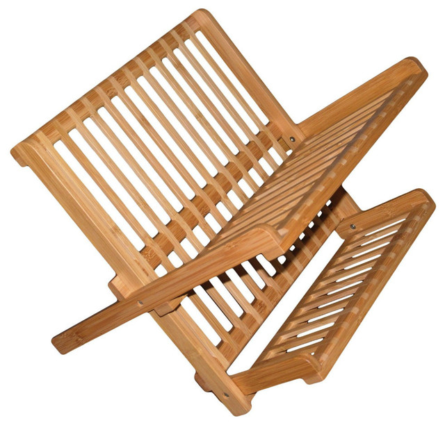Totally Bamboo 20-8517 Compact Dish Rack.