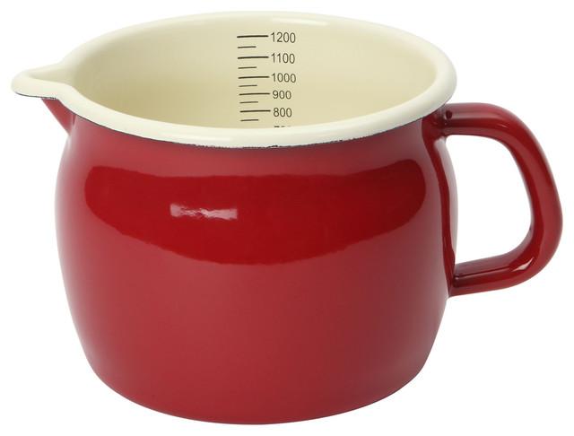 Dexam Vintage Home 1.2 l. Measuring Jug, Claret Red