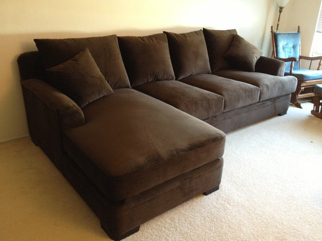 Similiar Large Comfy Sectional Sofa Keywords Deep Seated Extra