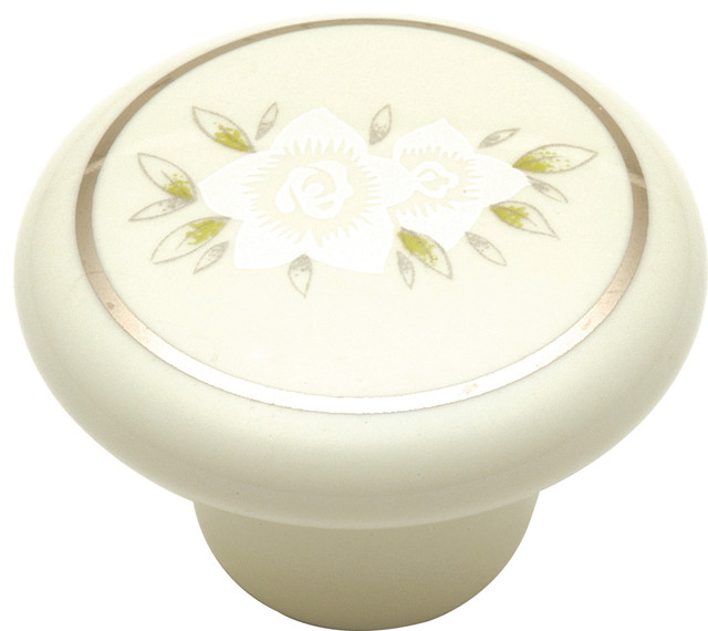 "Tranquility Cabinet Knob, 1 1/2"" - Cabinet And Drawer Knobs - by Simply Knobs And Pulls"