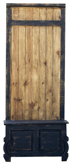 Rustic Hall Tree 22353 Rustic Hall Trees By Foxden Decor