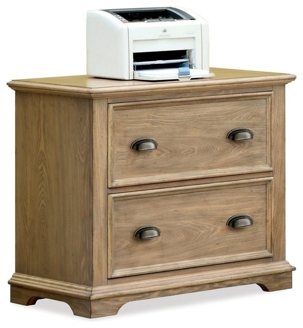 Riverside Furniture Coventry Lateral File Cabinet (Weathered Driftwood) - Filing Cabinets | Houzz