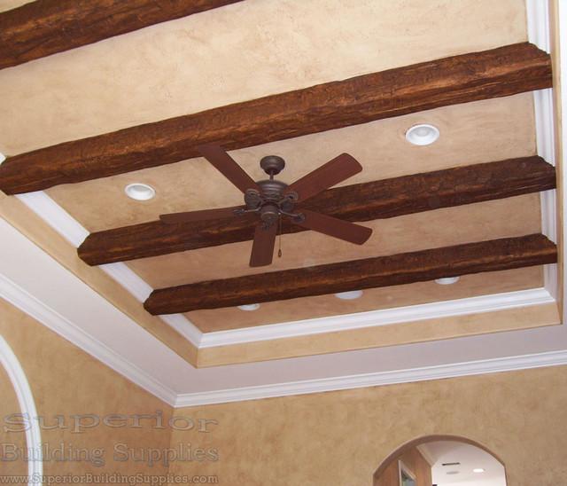 Imitation Wood Beams Uk ~ Superior faux wood beams traditional miami by
