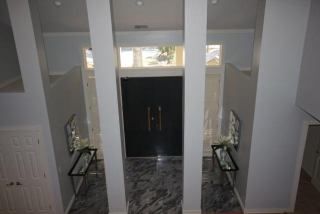 Symmetrical Entry Foyer