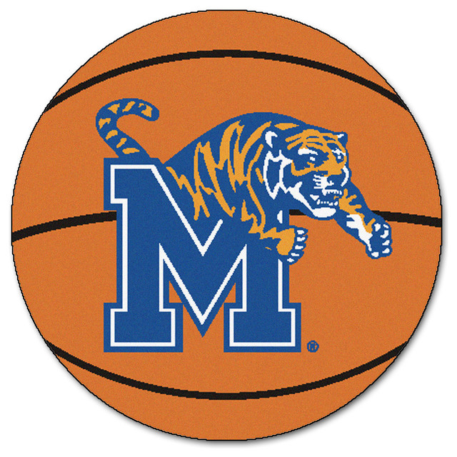 Fanmats Memphis Tigers Basketball Area Rug Area Rugs Houzz