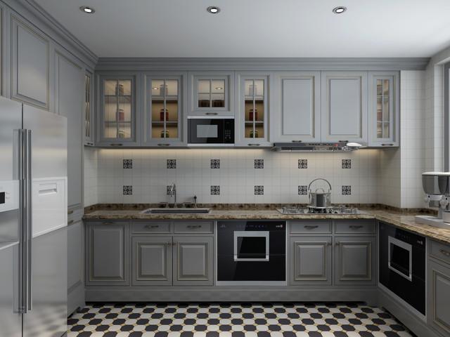 elegant gray kitchen with tile backsplash traditional elegant white marble glass kitchen backsplash tile