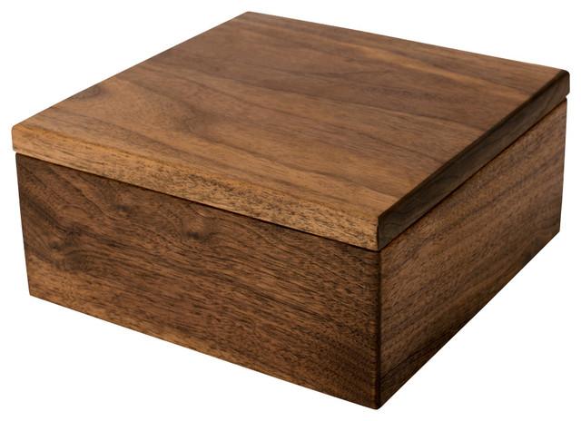 Large Wood Keepsake Box Caraway
