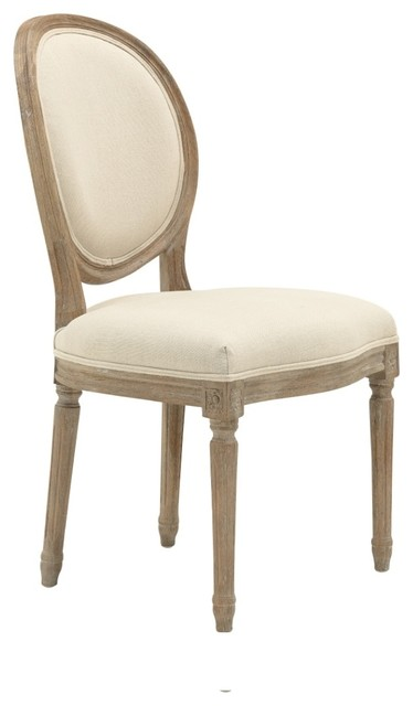 Country Style Maison Oval Dining Chair Traditional