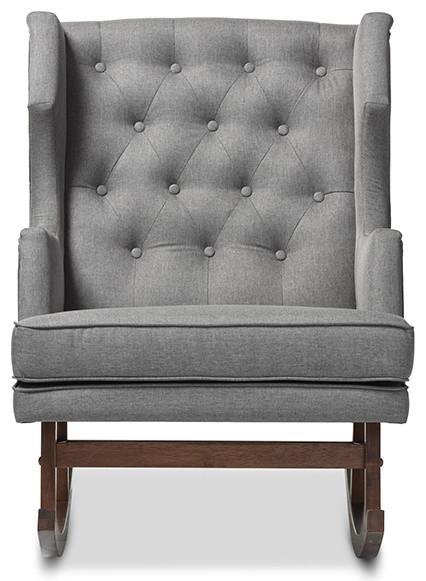 Merveilleux Davison Wingback Rocking Chair