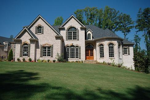 French Tudor Inspired Custom Home Build