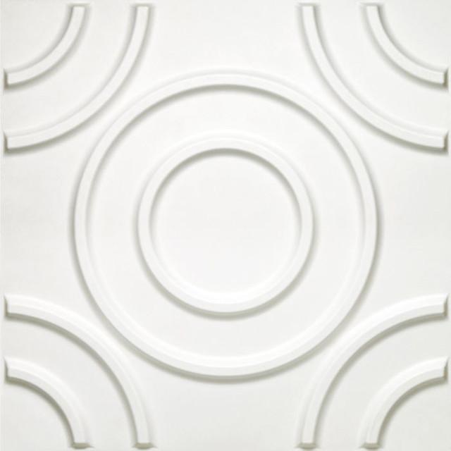 "Donny Osmond Circles Wall Tile, 19.6""x19.6"", 10 Tiles/26.70 Sq. Ft.."