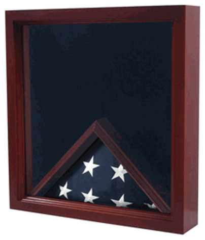 Flag And Medal Display Case Shadow Box Flag Display Traditional