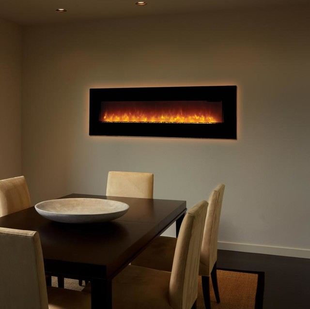 FireplaceX 64EF Linear Electric Fireplace contemporary-indoor-fireplaces - FireplaceX 64EF Linear Electric Fireplace