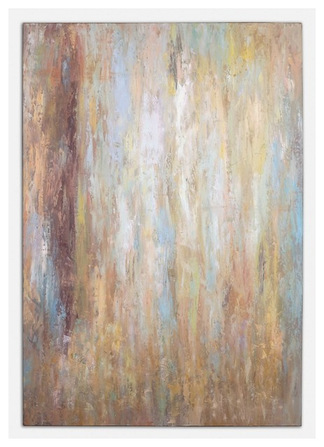 Raindrops Canvas Wall Art By Designer Grace Feyock