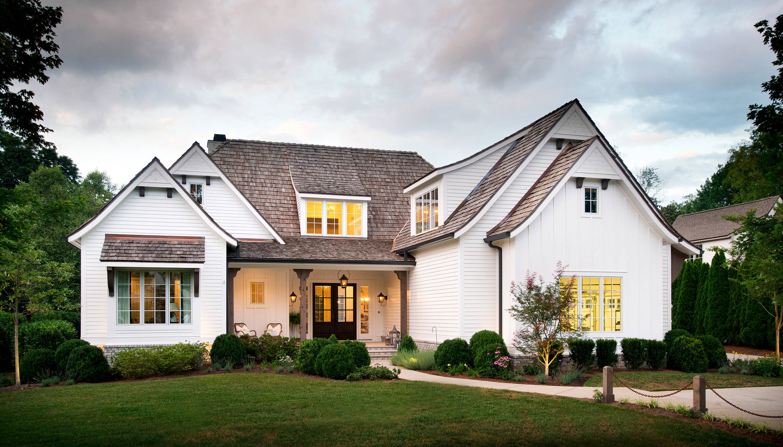 Highlands of Belle Meade Arts and Crafts / Farmhouse Inspired Residence