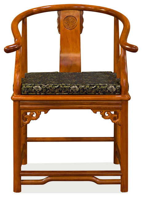 Rosewood Ming Style Chair, Natural