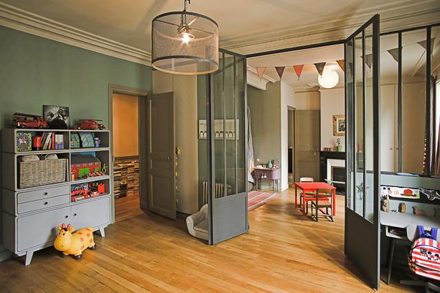 Style Industriel Retro Industriel Chambre D Enfant