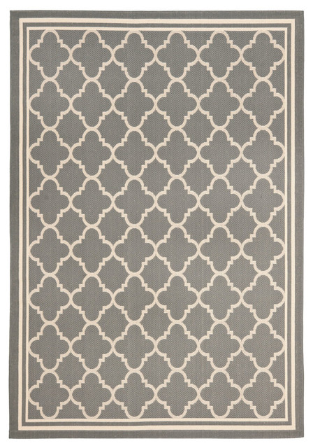 Safavieh Tulare Rug, Anthracite And Beige, 5&x27;3x7&x27;7.