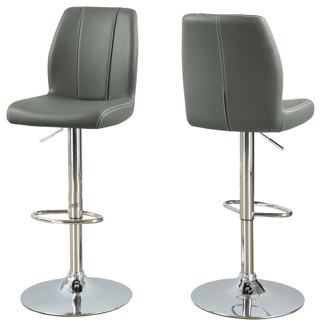 Outstanding Hydraulic Lift Bar Stools Set Of 2 Gray Camellatalisay Diy Chair Ideas Camellatalisaycom