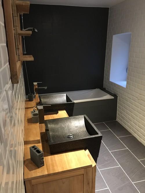 Bien-aimé Avant / Après , salle de bains AW34