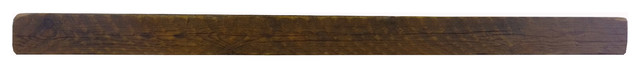 "Pine Barn Beam Mantel, 4""x6""x60""."