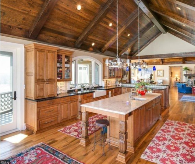 World Kitchen: Rustic Traditional Old World Kitchen