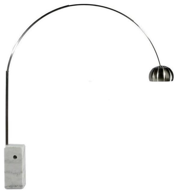 Arch Floor Lamp Marble Base, Arc Floor Lamp With Marble Base