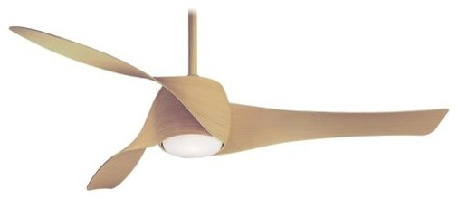 Minka Aire F803 Artemis 58 Ceiling Fan, Maple.