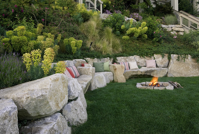 10 Contemporary Retaining Walls Offer Fresh Ideas For Slopes