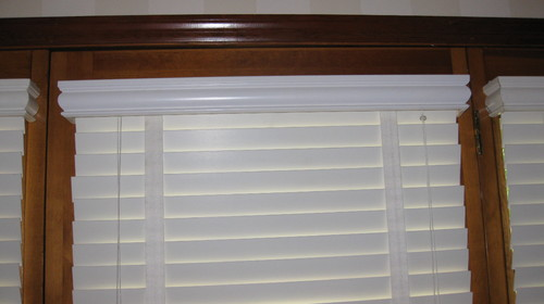 & Window treatments for Atrium door and two side windows
