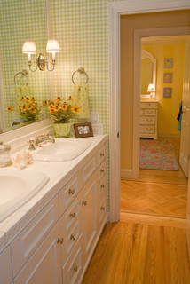 Kathleen Burke Design traditional bathroom