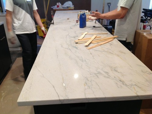 I Posted A Photo Of The Counter From Its Installation. Thanks Again.