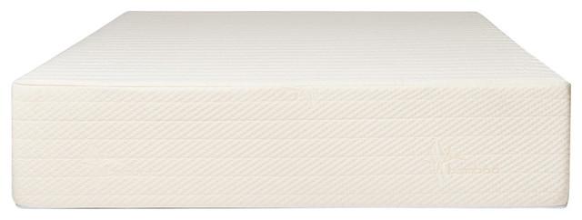 "Brentwood Home Bamboo Gel 13"" Memory Foam Mattress, King."