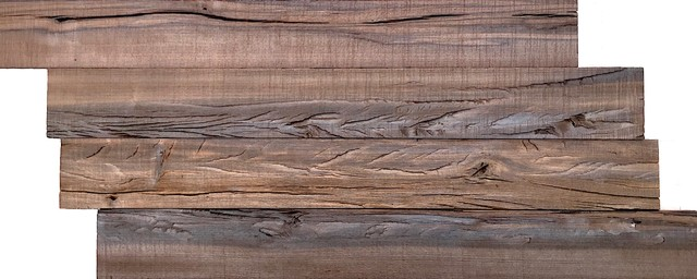 12 X28 Reclaimed Wood Wall Panels Brown Set Of 10