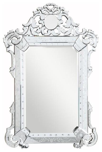 "Elegant Venetian Mirror, 39.25""x55.25""."