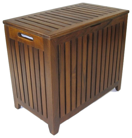 Stayer Teak Hamper.