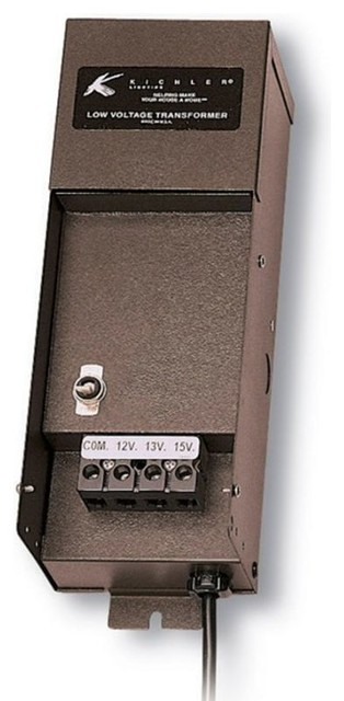 Kichler 15M200 Manual Series 200W Transformer with High-Efficiency E.I. Core