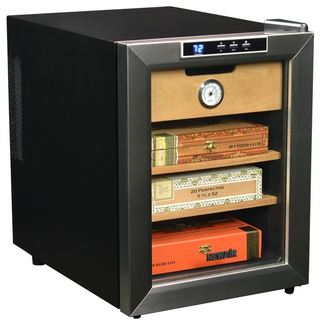 NewAir CC-100 Cigar Cooler - Contemporary - Beer And Wine Refrigerators - by Air & Water, Inc.